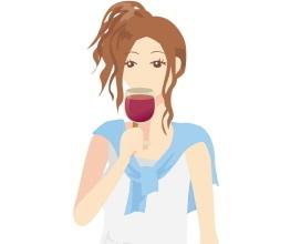 赤ワインの染み抜き