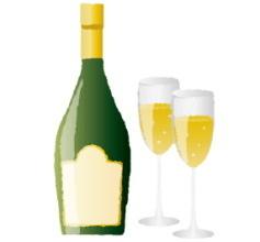 白ワインで漂白