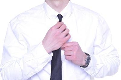 ワイシャツの襟の汚れ